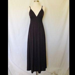 Victoria's Secret Dresses - Victoria's Secret Brown Maxi Dress